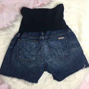 Hudson Jeans Maternity Denim Shorts - STRETCHY!